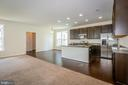 Kitchen with breakfast room. - 502 APRICOT ST, STAFFORD