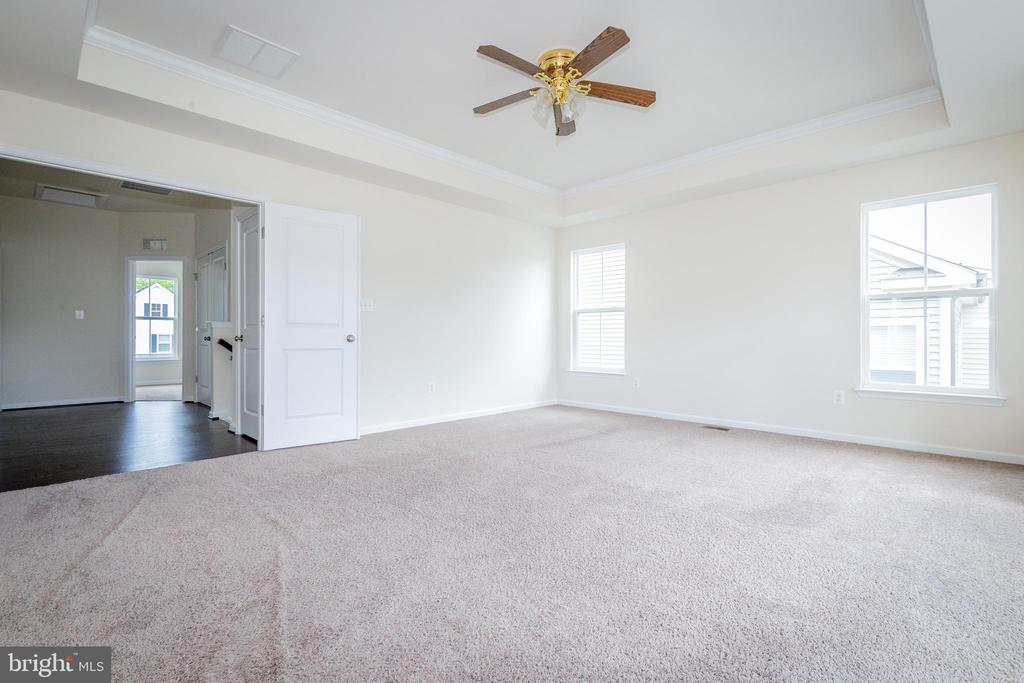 View from Owner's suite into wide 2nd fl landing - 502 APRICOT ST, STAFFORD
