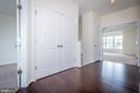 Washer/dryer closet - 502 APRICOT ST, STAFFORD