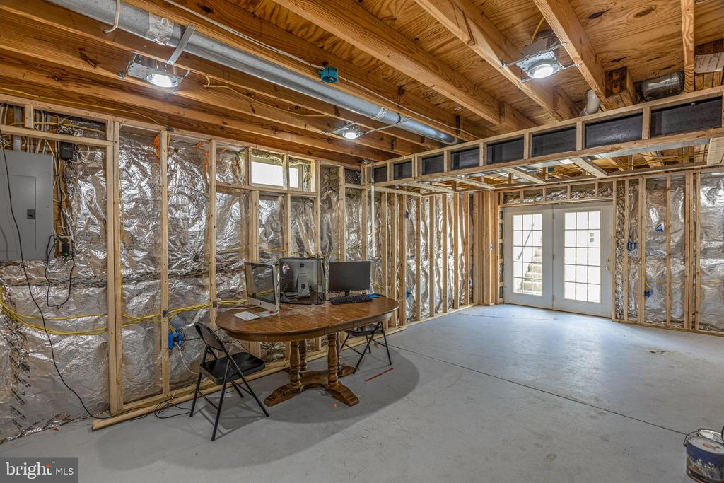 Framed Basement Rec Room - 20443 MIDDLEBURY ST, ASHBURN