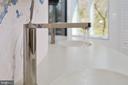 Contemporary Vibrant Titanium faucet finish - 1120 GUILFORD CT, MCLEAN