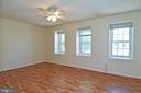 Three beautiful windows in the Master Bedroom! - 6463 FENESTRA CT #50C, BURKE
