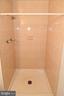 Master Bathroom Shower - 6463 FENESTRA CT #50C, BURKE