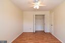 Bedroom w/ great closet space! - 6463 FENESTRA CT #50C, BURKE