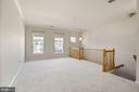 Light-filled Living Room with Crown Molding - 20220 MACGLASHAN TER, ASHBURN