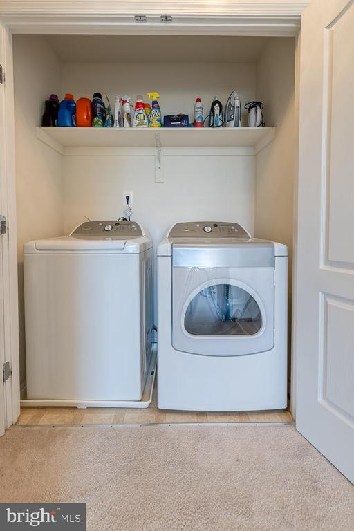 Laundry upstairs - 60 SANCTUARY LN, STAFFORD