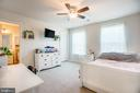 Bedroom #2 with ensuite and walk in closet - 12504 BAINSWOOD CT, FREDERICKSBURG