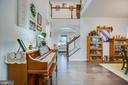 Open 2 story foyer - 12504 BAINSWOOD CT, FREDERICKSBURG