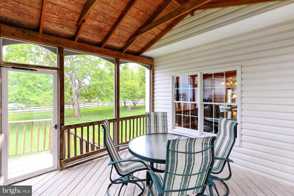 Entertain in the screened porch! - 508 DRANESVILLE RD, HERNDON