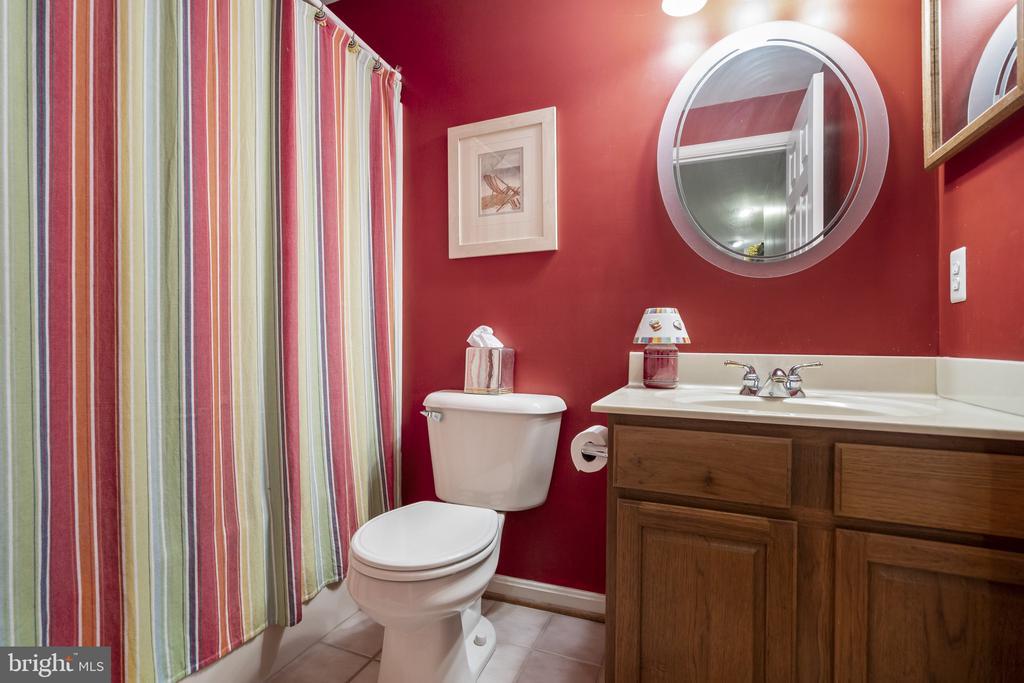 Lower level bath - 13 LUDWELL LN, STAFFORD