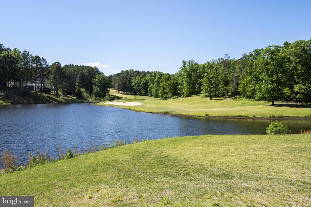 Gorgeous Golf course view - 13 LUDWELL LN, STAFFORD