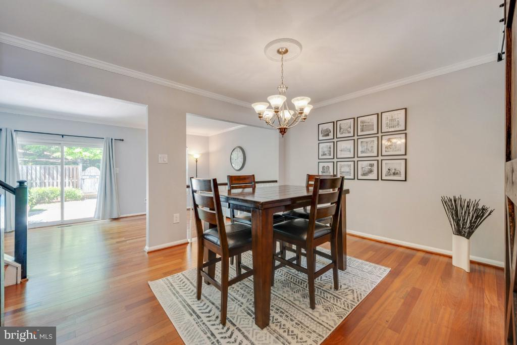Dining Room - 5752 HERITAGE HILL DR, ALEXANDRIA