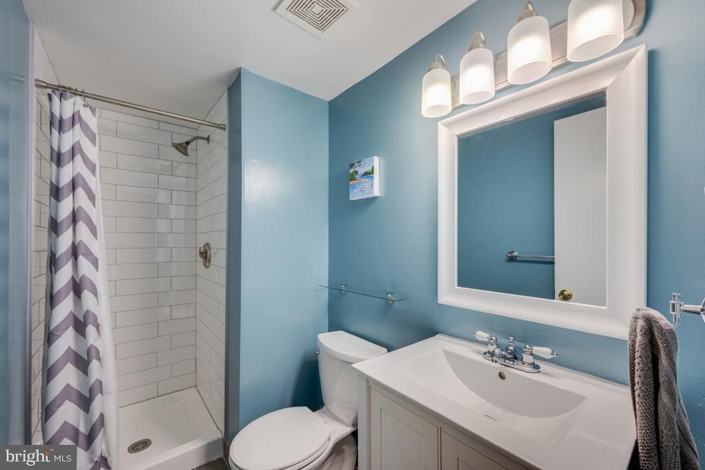 Lower Level Full Bathroom - 5752 HERITAGE HILL DR, ALEXANDRIA