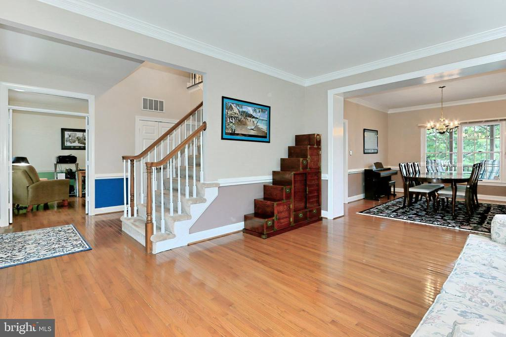 View of open Living Room - 508 DRANESVILLE RD, HERNDON