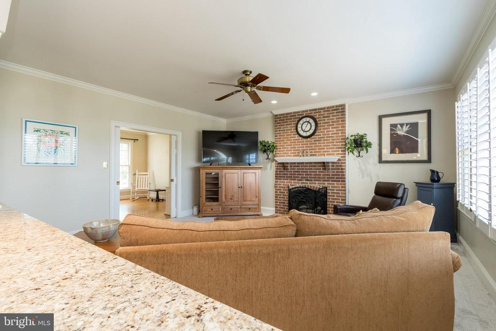 Family Room - 13645 MELSTONE DR, CLIFTON