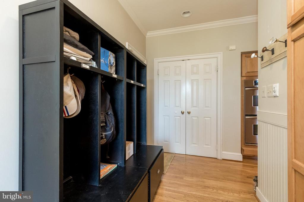 Built In Cubbies for Organizing - 13645 MELSTONE DR, CLIFTON