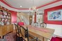 Formal Dining Room - 43327 RIVERPOINT DR, LEESBURG