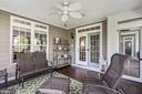 Screened-In Porch - 43327 RIVERPOINT DR, LEESBURG