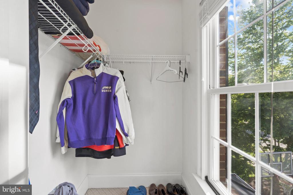 Third Bedroom Walk-in Closet - 43327 RIVERPOINT DR, LEESBURG