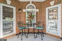 Balcony Overlooking Riverpoint Drive - 43327 RIVERPOINT DR, LEESBURG