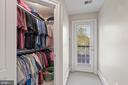 2nd Walk-In Closet in Owner Bedroom - 43327 RIVERPOINT DR, LEESBURG