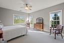 Fifth Bedroom with Golf Course Views - 43327 RIVERPOINT DR, LEESBURG