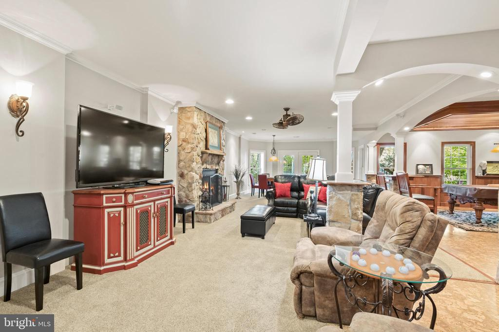 Lower Level Media Area - 43327 RIVERPOINT DR, LEESBURG
