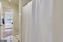Shared shower/ tub and toilet. - 43533 MINK MEADOWS ST, CHANTILLY