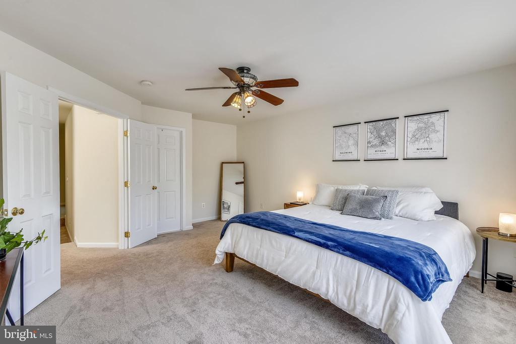 Spacious Owner's Sweet with walk in closet. - 43533 MINK MEADOWS ST, CHANTILLY