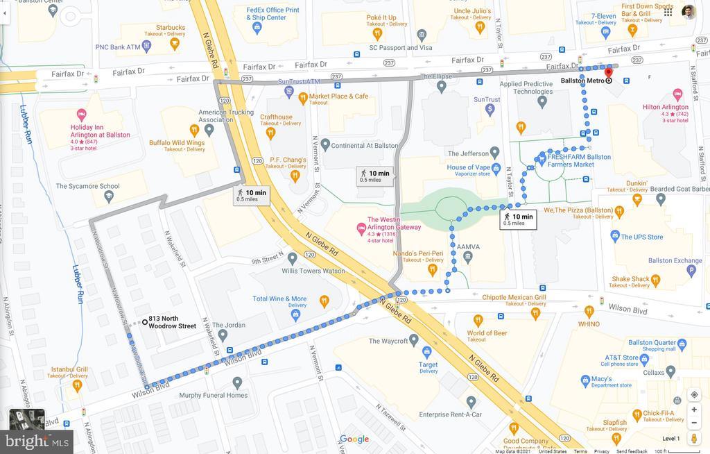 1/2 Mile to Metro!  - 10 minute walk - 813 N WOODROW ST, ARLINGTON