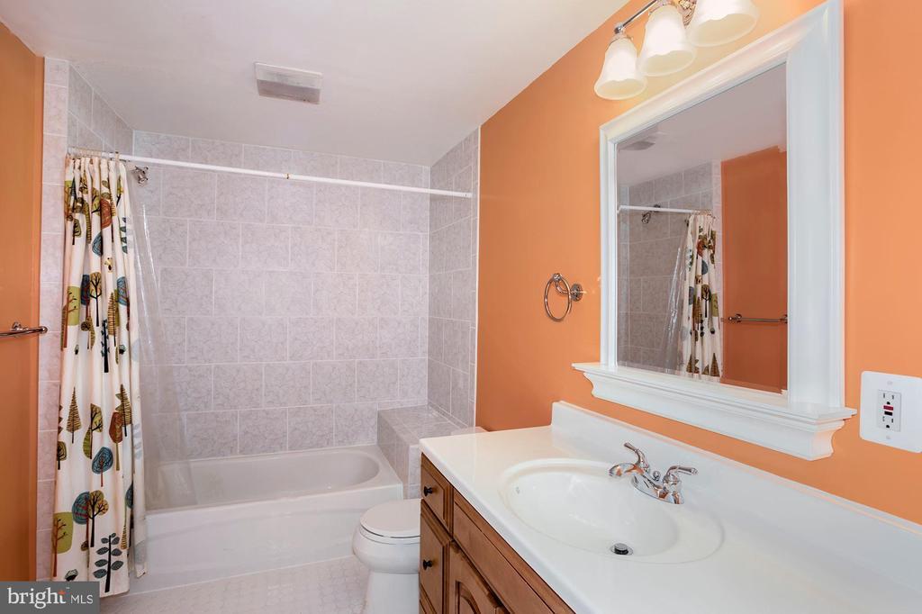 Lower level full bath - 14915 LIMESTONE SCHOOL RD, LEESBURG
