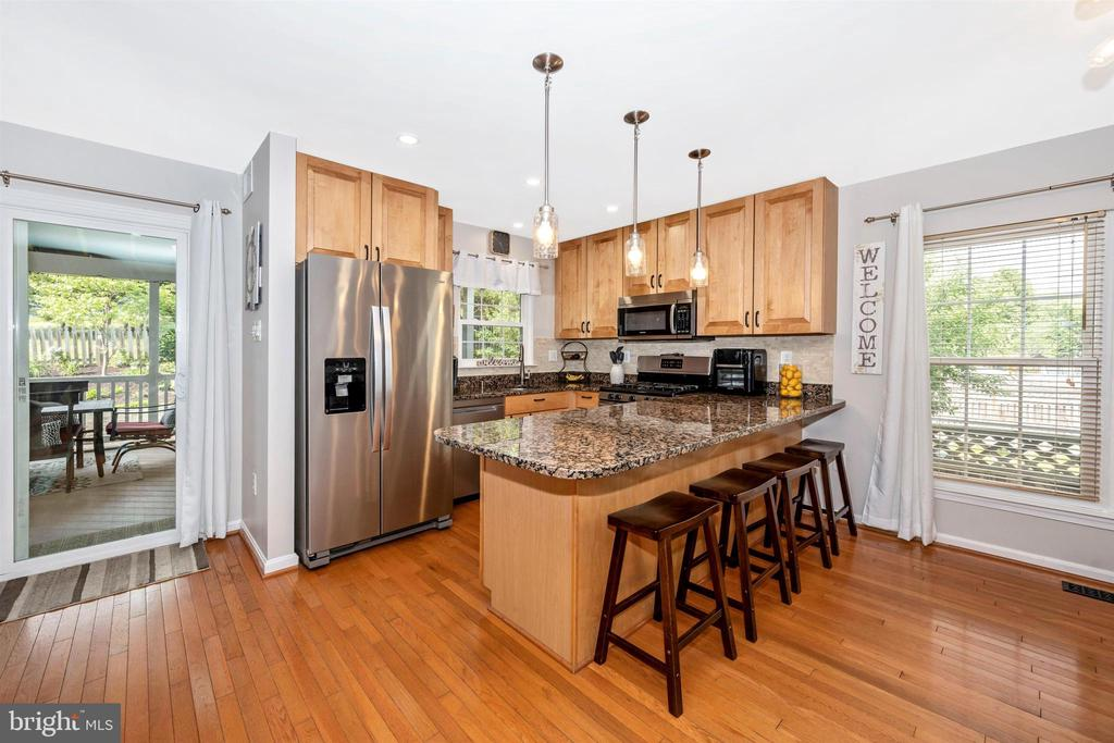 Stainless steel appliances - 17004 INDIAN GRASS DR, GERMANTOWN