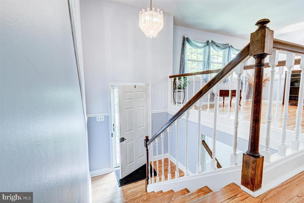 Hardwood floors on all of main level. - 36 SENECA TER, FREDERICKSBURG