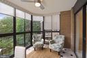 Enclosed sunroom - 1600 N OAK ST #532, ARLINGTON
