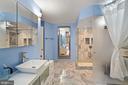 Spa-like primary bathroom! - 1600 N OAK ST #532, ARLINGTON