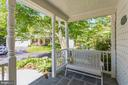 Cozy and relaxing front porch - 13619 BRIDGELAND LN, CLIFTON