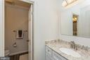 Shared hall bath with dual sinks for busy mornings - 13619 BRIDGELAND LN, CLIFTON