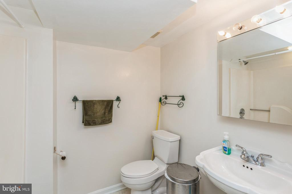 Full bath in lower - 13619 BRIDGELAND LN, CLIFTON