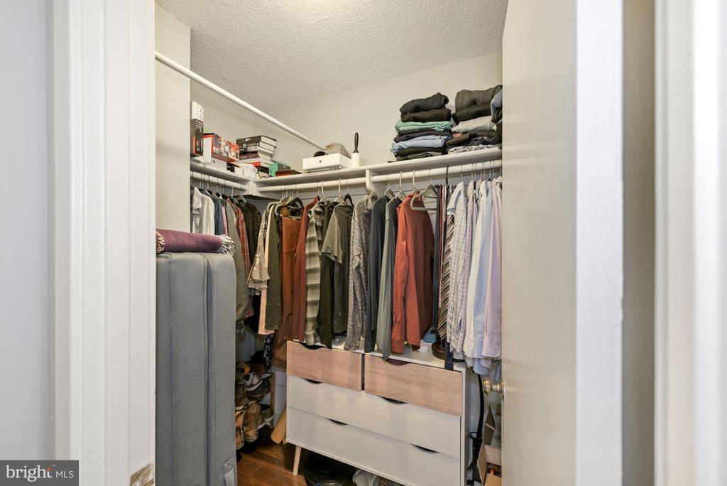 Walk in Closet - 2111 WISCONSIN AVENUE, NW #420, WASHINGTON