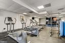 Gym - 2nd view. - 2111 WISCONSIN AVENUE, NW #420, WASHINGTON