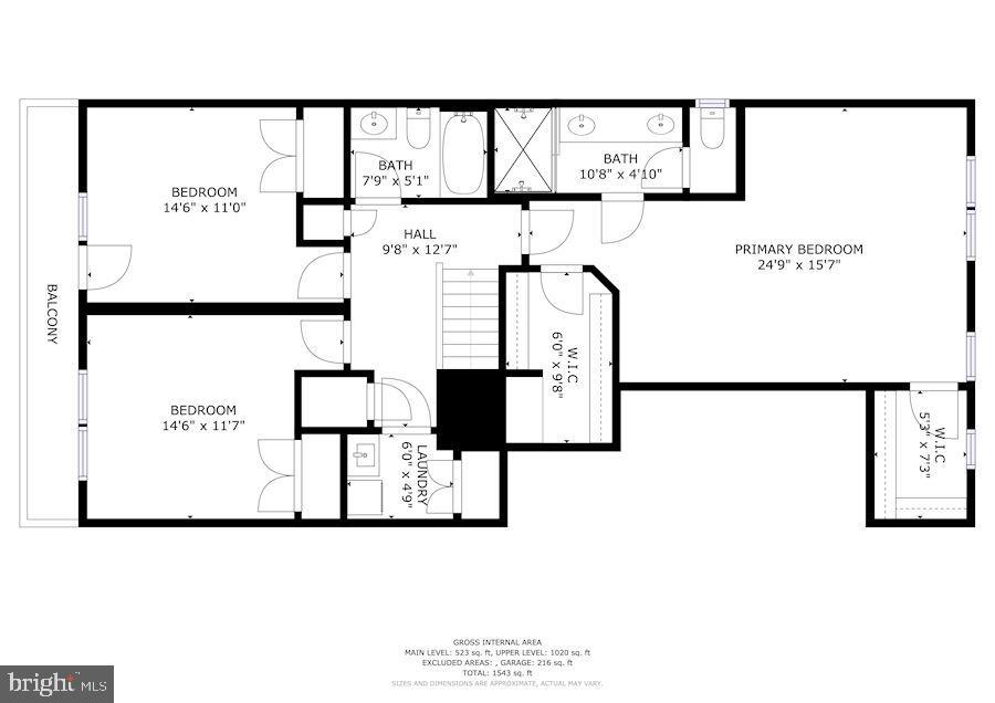 Floor Plan - 5843 ROCHEFORT ST, IJAMSVILLE