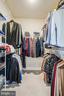 Master bedroom walk-in closet - 44246 SILVERPALM GROVE TER, LEESBURG