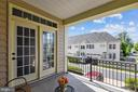 Patio off the family room - 24953 EARLSFORD DR, CHANTILLY