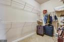 Main bedroom walk in #1 - 24953 EARLSFORD DR, CHANTILLY