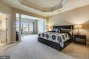 Main bedroom with a sitting room - 24953 EARLSFORD DR, CHANTILLY