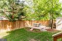 Fully fenced yard - 7945 BOLLING DR, ALEXANDRIA