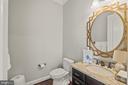 Main Level Half Bath (Mirror Does Not Convey) - 35543 GREYFRIAR DR, ROUND HILL