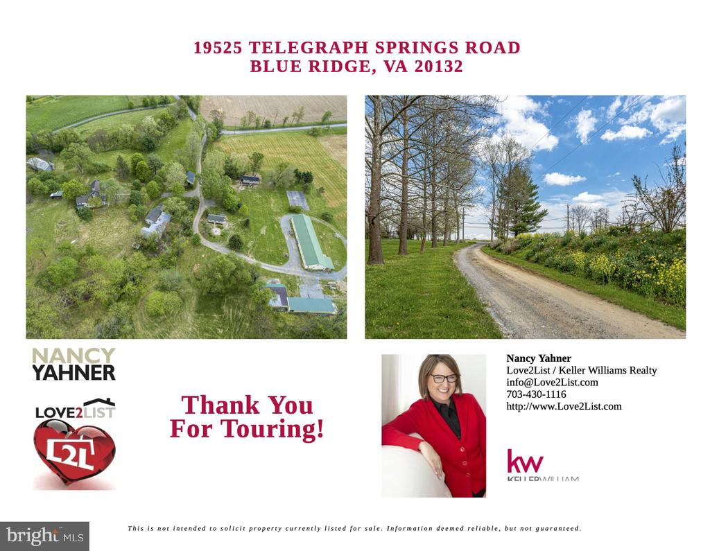 Brochure Page 6 - 19525 TELEGRAPH SPRINGS RD, PURCELLVILLE