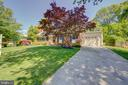 Deep Set-Back from Street - All Concrete Driveway - 2502 CHILDS LN, ALEXANDRIA