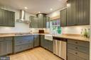 Kitchen -  Beautifully Renovated and Upgraded! - 2502 CHILDS LN, ALEXANDRIA